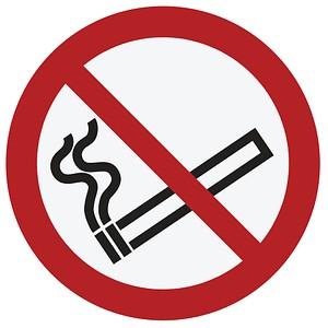 Verbotsaufkleber Rauchen verboten