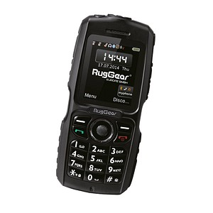 RugGear RG100 Outdoor-Handy schwarz