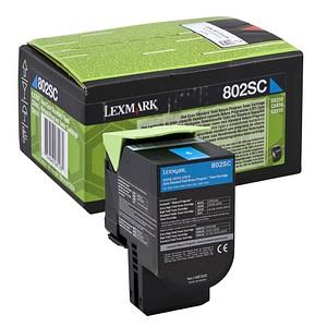 Lexmark 80C2SC0 cyan Toner