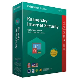 KASPERSKY Internet Security 2018 Vollversion (PKC)