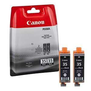 Canon PGI-35 BK Twin-Pack schwarz Tintenpatronen