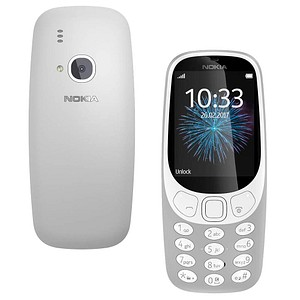 NOKIA 3310 3G Dual-Sim-Handy grau