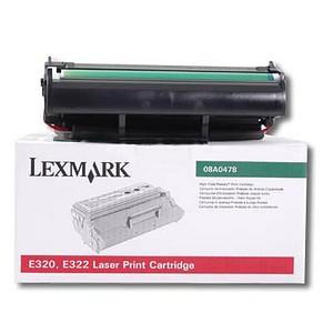 Lexmark 08A0478 schwarz Toner