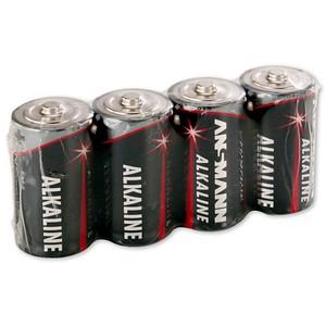 ANSMANN Batterien Red Alkaline Baby C 1,5 V