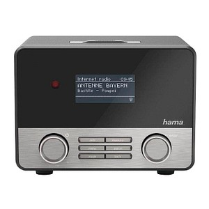 hama IR110 Internet-Radio schwarz, silber