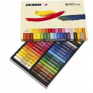 JAXON Ölkreide 47412 36 verschiedene Farben