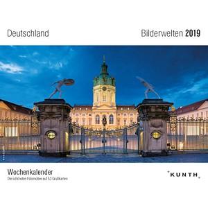 Kunth Tischquerkalender Deutschland 2019