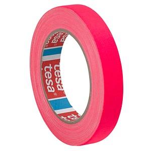 tesa Gewebeband neon 1,9 cm pink