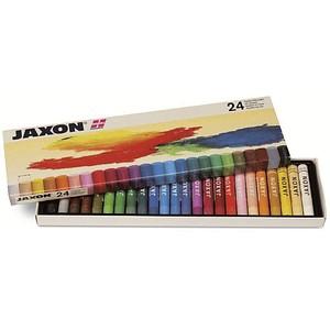 JAXON Ölkreide 47412 24 verschiedene Farben