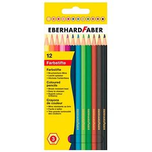 12 EBERHARD FABER Buntstifte farbsortiert