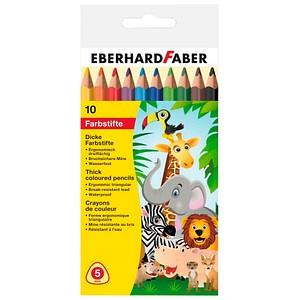 10 EBERHARD FABER Buntstifte farbsortiert