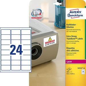 480 AVERY Zweckform Folien-Kraftklebe-Etiketten...