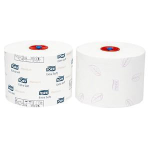 TORK Jumbo-Toilettenpapier Premium Mini-Jumborolle 2-lagig