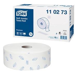 TORK Jumbo-Toilettenpapier Premium Jumborolle 2-lagig