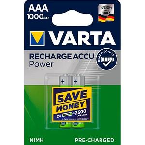 Akkus RECHARGE ACCU Power Micro AAA 1.000 mAh