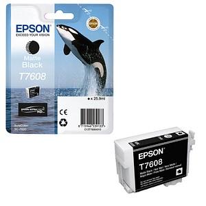 EPSON T7608 matt schwarz Tintenpatrone