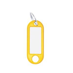 10 WEDO Schlüsselanhänger gelb