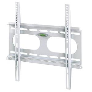 hama TV-Wandhalterung FIX Ultraslim L weiß