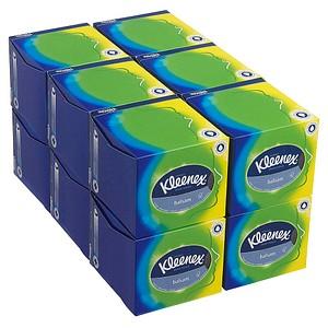 12x 56 Kleenex® Kosmetiktücher Balsam