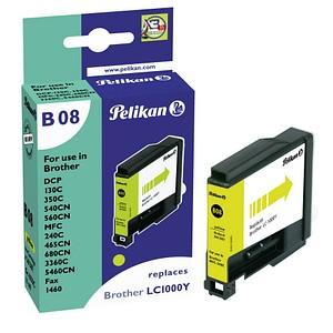 Pelikan B08 gelb Tintenpatrone ersetzt brother LC-1000Y