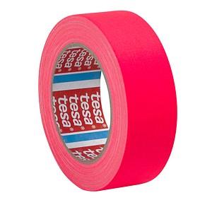 tesa Gewebeband neon 3,8 cm pink