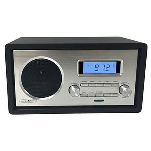REFLEXION HRA1250 Radio schwarz, silber
