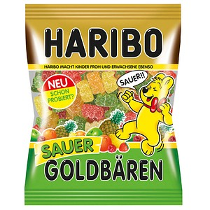 HARIBO GOLDBÄREN sauer Fruchtgummi 200,0 g