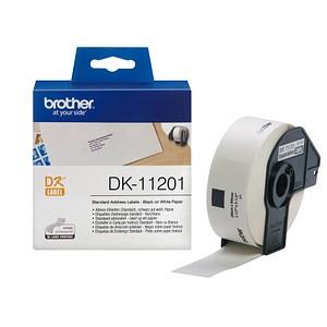 400 brother Etiketten DK11201 weiß