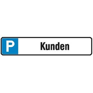 Hinweisschild Parken