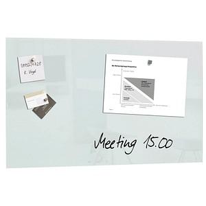 sigel Glas-Magnettafel artverum® 78,0 x 48,0 cm weiß