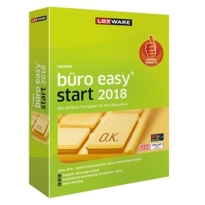 LEXWARE büro easy start 2018 Vollversion