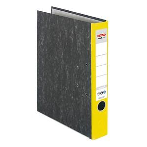 herlitz maX.file nature Ordner 5,0 cm gelb