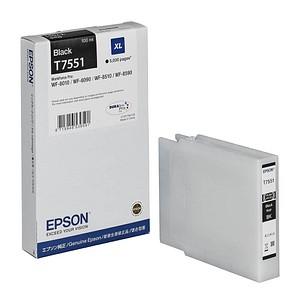 EPSON T7551XL schwarz Tintenpatrone