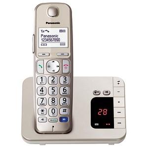 Panasonic KX-TGE220GN Schnurlostelefon mit Anru...