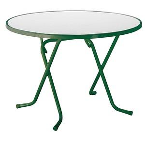 BEST Gartentisch Primo Grün Rund