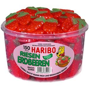 HARIBO RIESEN ERDBEEREN Fruchtgummi 150 St.