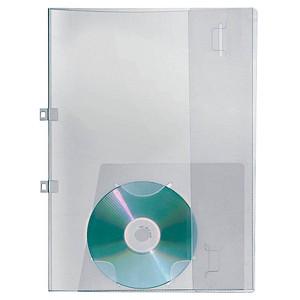 VELOFLEX Crystal Angebotsmappe transparent mit Streifenoptik
