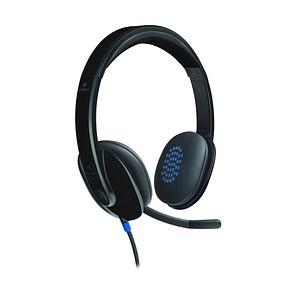 Logitech H540 USB-Headset schwarz
