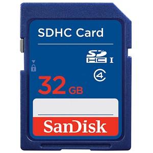 SanDisk Speicherkarte SDHC-Card 32 GB