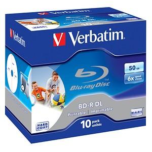 10 Verbatim Blu-ray BD-R