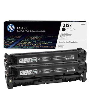 HP 312X schwarz Tonerkartuschen