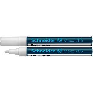 Schneider Maxx 265 Kreidemarker weiß
