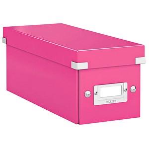 LEITZ Click & Store CD-/DVD-Box pink