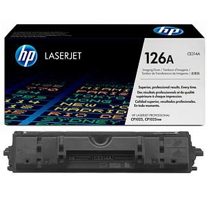 HP 126A schwarz, color Trommel