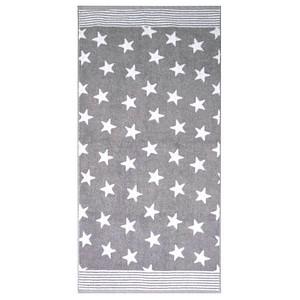Dyckhoff Handtuch Stars grau