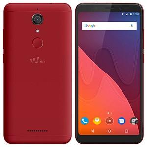 Wiko VIEW Dual-SIM-Smartphone rot 32 GB