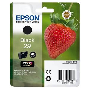 EPSON 29 / T2981 schwarz Tintenpatrone