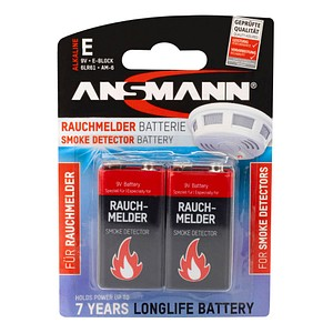 Batterien  von ANSMANN