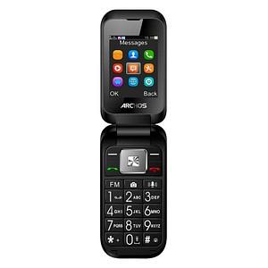 ARCHOS Flip Phone Großtasten-Handy schwarz