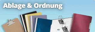 Ablage und Ordnung